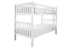 Sandra White Bunk Bed