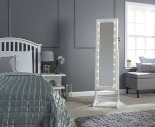 Amore Jewellery Armoire with LED