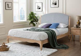 Birlea Ritz King Size Oak Bed & Bedside Bundle