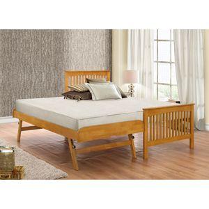 Birlea Toronto Wooden Oak Guest Bed