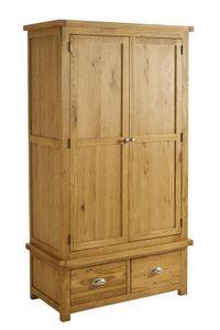 Birlea Woburn 2 Drawer 2 Door Wardrobe