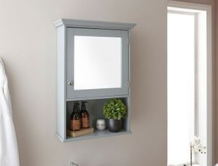 GFW Colonial Mirrored Cabinet