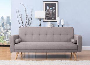 Birlea Ethan Grey Sofa Bed
