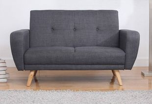 Birlea Farrow Grey Sofa Bed