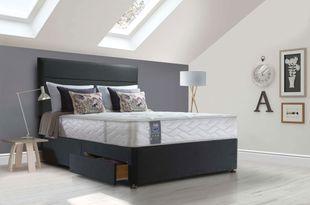 Sealy Jubilee Latex Ottoman Divan Bed