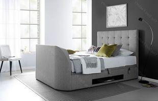 Kaydian Barnard Grey TV Bed
