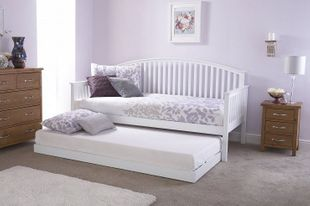 Madrid Day Bed And Trundle - White