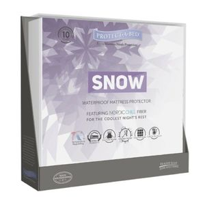 Protect A Bed SNOW Nordic Chill Waterproof Mattress Protector