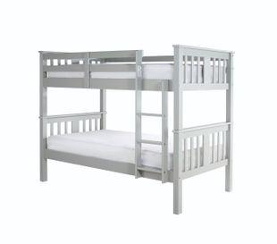 Columbus Grey Wooden Bunk Bed