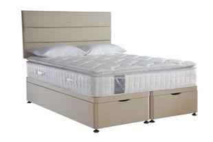 Sealy Pearl Memory Ottoman Divan Bed