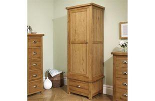 Birlea Woburn 1 Drawer 1 Door Wardrobe